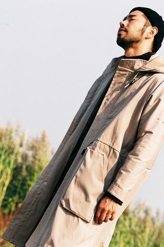 투웨이 후디 사파리 코트(2color)